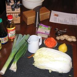 Dumpling Makings