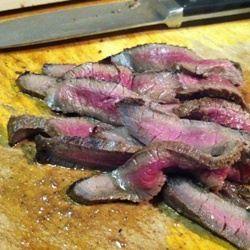 Venison skirt steak